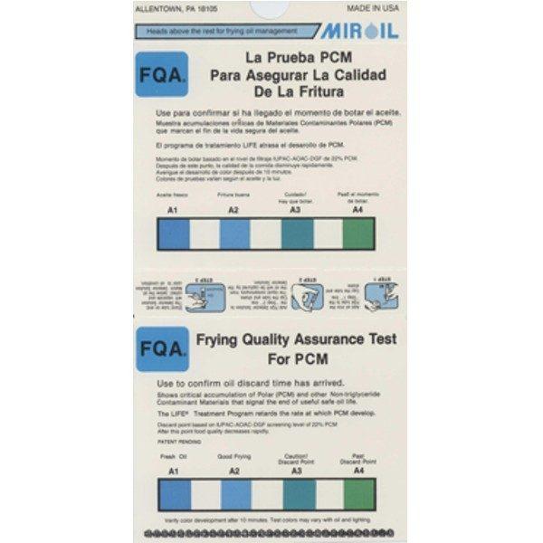 Medição da qualidade do óleo de fritura, Kit test qualità olio, Frittieröltester, Test de qualité des huiles de friture, Oiltester, Medición de calidad de aceite de freír
